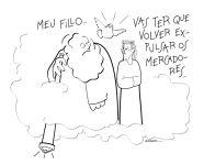 Un regalo para Irimia do humorista Xoán Andrade. Graciñas! Podedes seguir as súas creacións no blog http://xoan-andrade.blogspot.com.es/